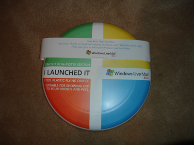 Windows Live Frisbee
