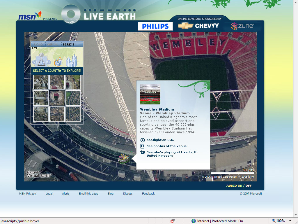 live earth interactive virtual earth map live