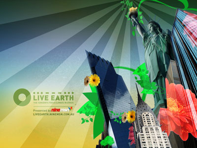 Live Earth Wallpaper