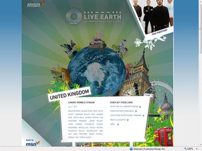 live_earth_ad_3_small News