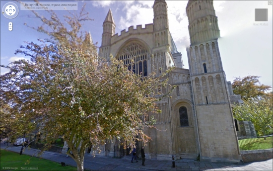 Boley Hill Rochester Cathedral
