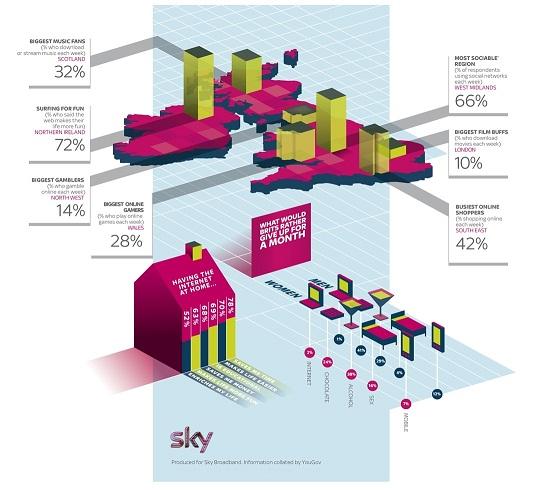 Sky Broadband Infographic